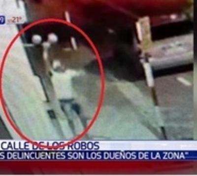 Captan a ladrones en el microcentro de Asunción