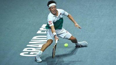 Nishikori está en semifinales en Metz