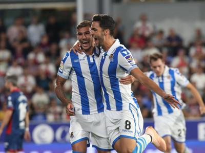 Merino le dio la victoria a la Real Sociedad ante Huesca