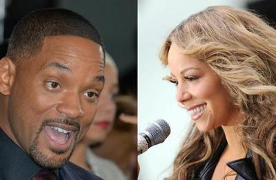 'Cuando sólo tenía dos vestidos': Mariah Carey desempolvó foto de hace 30 años del día en que conoció a Will Smith