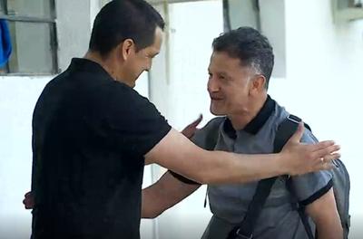 """Juan Carlos Osorio presente en el """"Nido"""""""