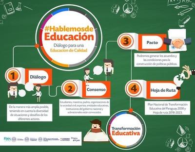 El MEC propone el diálogo para una educación de calidad