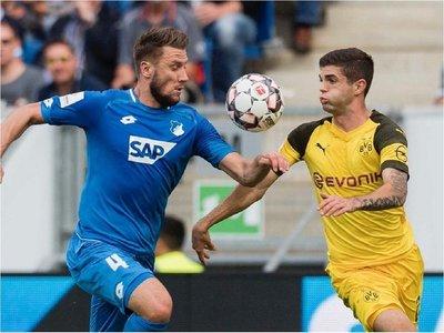 Dortmund empata con 10 ante el Hoffenheim