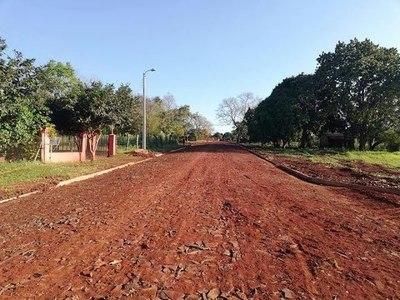 HABILITAN MEJORA DE CALLES EN CAMBYRETA