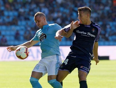 Celta de Vigo y Valladolid igualaron 3 a 3