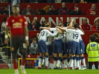 El Tottenham golea al United en Old Trafford
