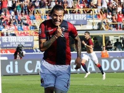 Bolonia vence a la Roma con gol de Federico Santander