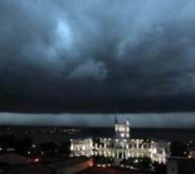 Anuncian fuertes tormentas para este lunes