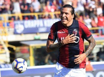 Federico Santander anotó en el triunfo del Bologna