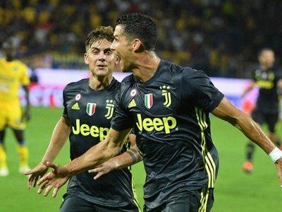 Cristiano mantiene a Juventus con el pleno de puntos
