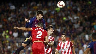 Girona frenó al Barcelona en su campo