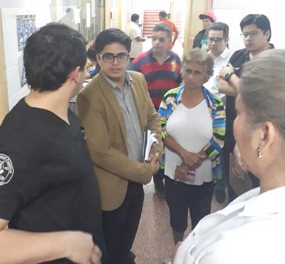 """Integrarán """"comité de crisis"""" para buscar solución al Pabellón de Traumas de CDE"""