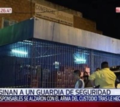 Delincuentes asesinan a guardia de seguridad en Capiatá