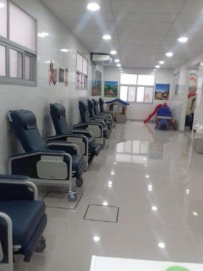 Pediátrico Acosta Ñu con renovada sala ambulatoria de Oncohematología