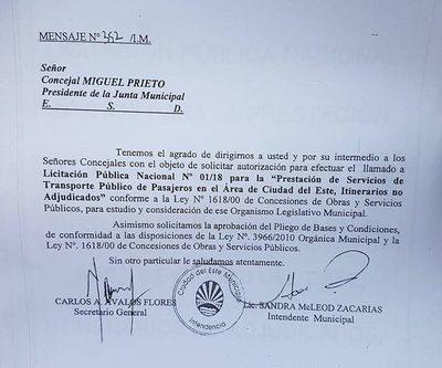 Zacarías ya robó itinerarios a dos empresas,  de transporte, y ahora va por Ciudad Jardín