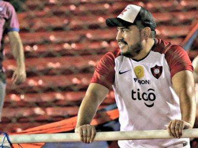 Javier Monges, candidato a la presidencia de Cerro Porteño