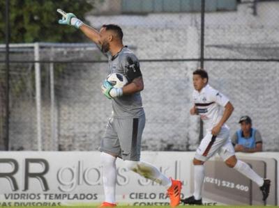 Diego Barreto, el Tapador de la fecha 11 del Clausura