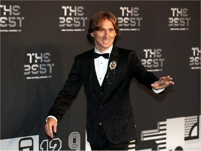 Luka Modric gana el premio 'The Best'