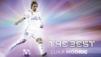 Luka Modric gana el Premio The Best al mejor jugador del mundo