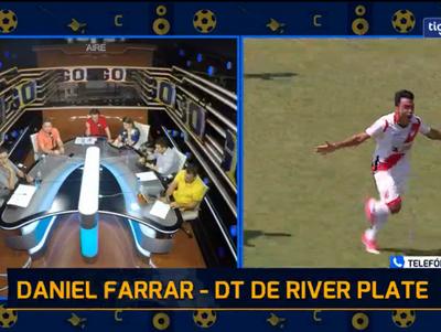 Daniel Farrar en contacto con la Rock & Gol TV