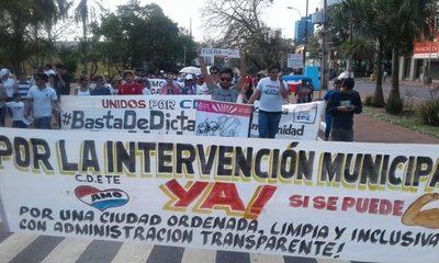 La ciudadanía copará hoy la Junta Municipal para exigir que traten pedido de intervención
