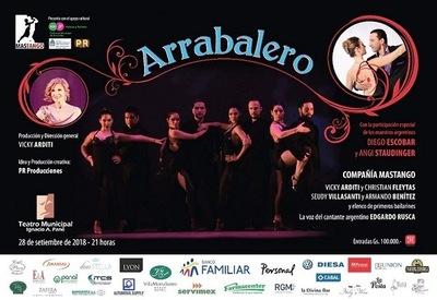 """Espectáculo de tango """"Arrabalero"""" subirá a escena en el Municipal"""
