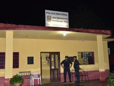 Sospechoso de homicidio en Ñemby dio positivo a prueba de parafina