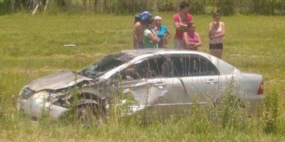 ACCIDENTE DE TRÁNSITO EN RAMAL MBOCAYATY INDEPENDENCIA