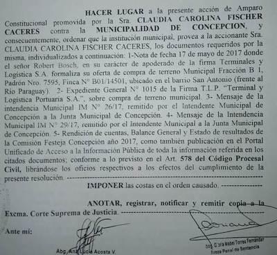 Conceden amparo promovido por periodista contra Municipalidad de Concepción