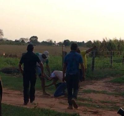 Brutal golpiza a productor de soja en San Joaquín
