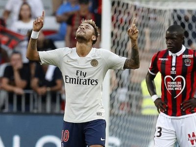 Neymar lidera el octavo triunfo del PSG