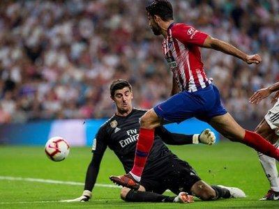 Courtois y Oblak apagan el derbi de Madrid