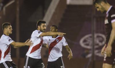 HOY / River, con Moreira en el equipo golea a Lanús