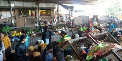 Mucho movimiento en el mercado 1 de Villarrica