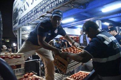 Requisan importante carga de tomates en Abasto