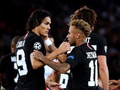 Neymar lidera la goleada del PSG