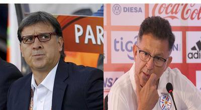 """El """"Tata"""" Martino deseó lo mejor a Osorio al frente de la Albirroja"""