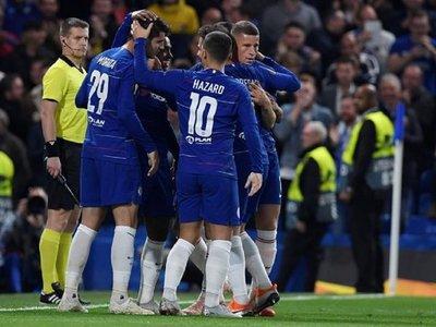 Morata rescata al Chelsea ante el débil MOL Vidi