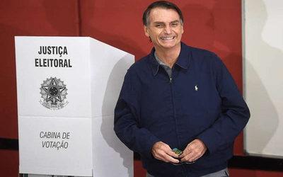 Jair Bolsonaro aseguró que ganará en primera vuelta