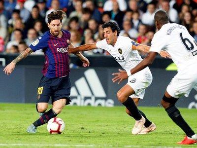 Valencia y Barcelona firman un empate