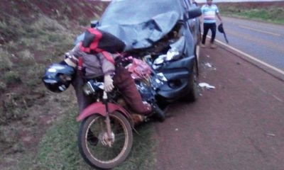 Motociclista muere en accidentede tránsito
