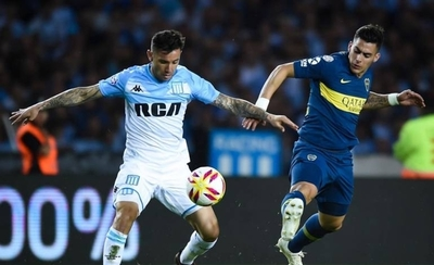 HOY / Argentina: Racing igualó con Boca y se mantiene como único líder