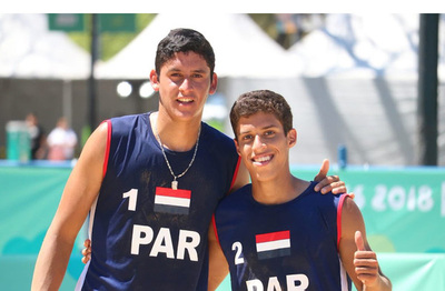 Paraguay conquista su primer triunfo en vóleibol de playa