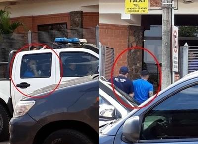 Viralizan imágenes del momento en el que Torito Bogado habría sido arrestado