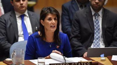 Nikki Haley renunciará como embajadora de EE.UU. ante la ONU