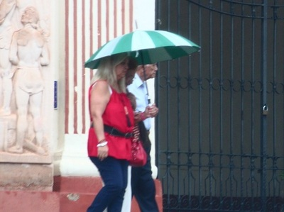 Meteorología emite alerta de lluvias y tormentas para nueve departamentos