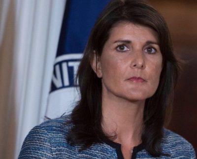 Embajadora ante la ONU renuncia