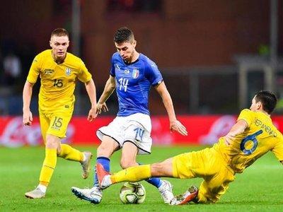 Italia no puede con Ucrania y lleva cuatro meses sin ganar