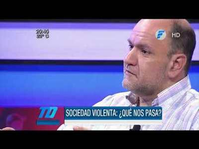 """Pablo Lemir: """"El alto nivel de violencia refleja una sociedad enferma"""""""