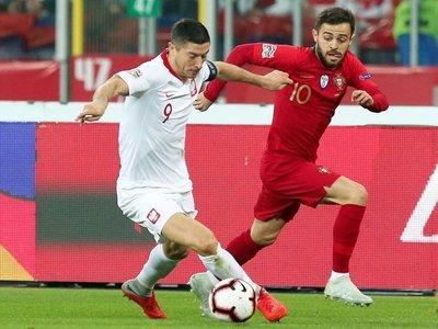 Portugal, sin Ronaldo, vence a Polonia y lidera su grupo